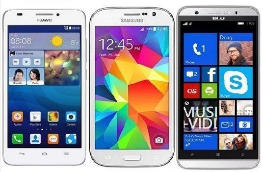 Smartphones economici Android
