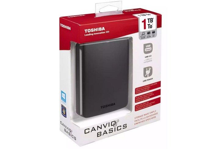 Toshiba Canvio Basics 1