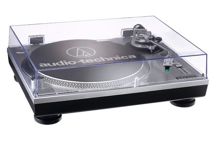 AUDIO TECHNICA AT LP120 SILVER