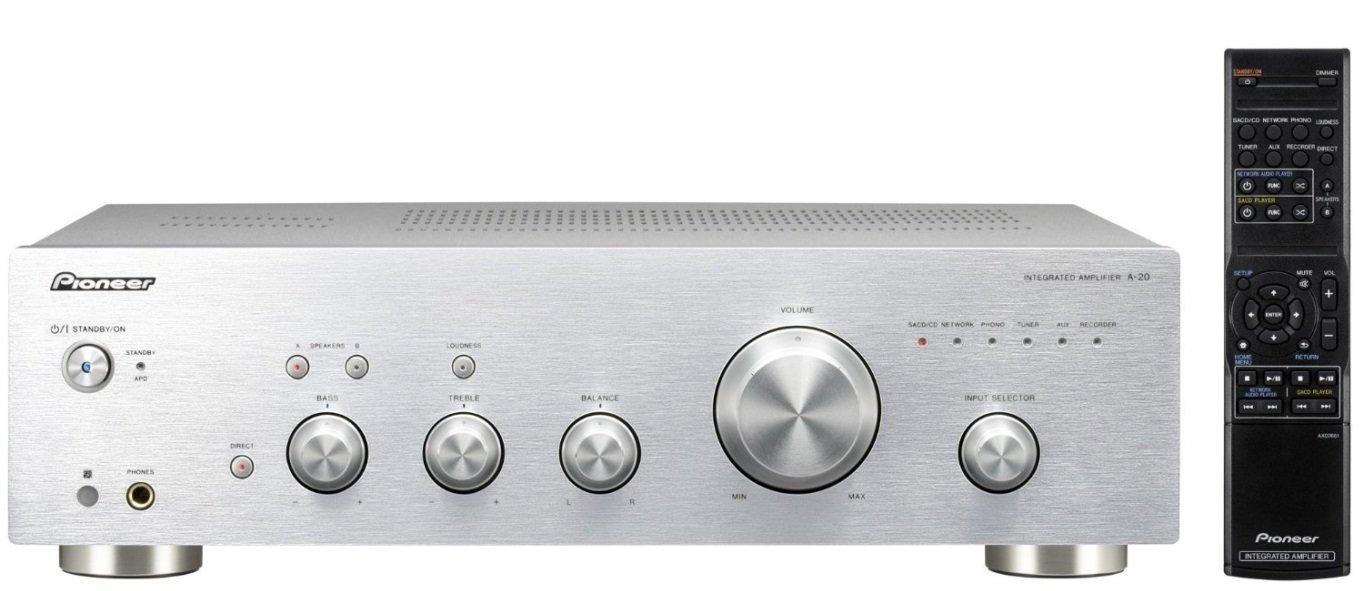 Amplificatore Pioneer A20S (versione silver)