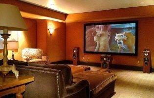 Sistema home cinema blu ray
