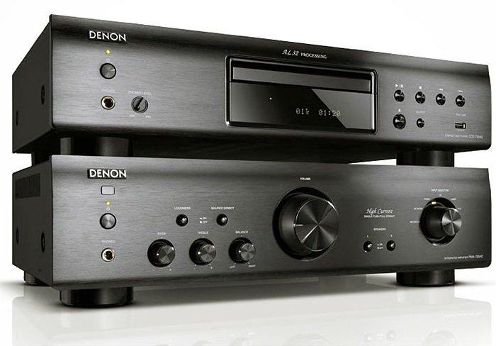 Denon PMA 720AE e Denon DCD-720AE CD versione black