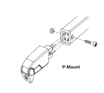 Puntina Giradischi: Attacco di tipo P mount
