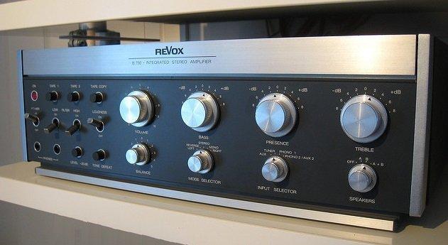 Migliori amplificatori HiFi: Revox vintage