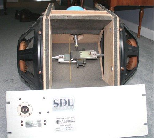 Subwoofer SDL con motore elettrico ad alta velocità
