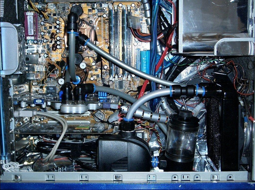 Raffreddamento a liquido del PC - componenti