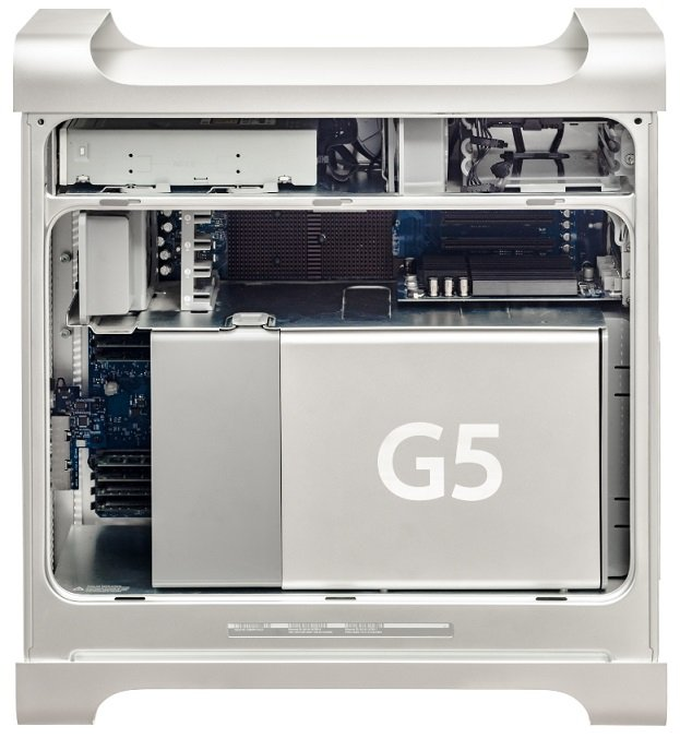 Raffreddamento a liquido del PC - Power MAC G5